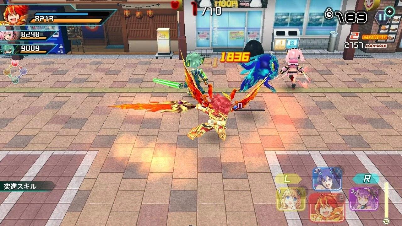 暁のブレイカーズバトル画像