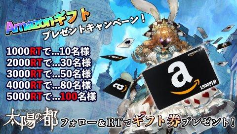 Amazonギフトプレゼントキャンペーン