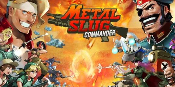 Metal Slug : Commanderバナー