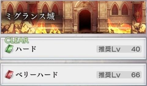 ミグランス城の攻略とマップ【アナザーダンジョン】