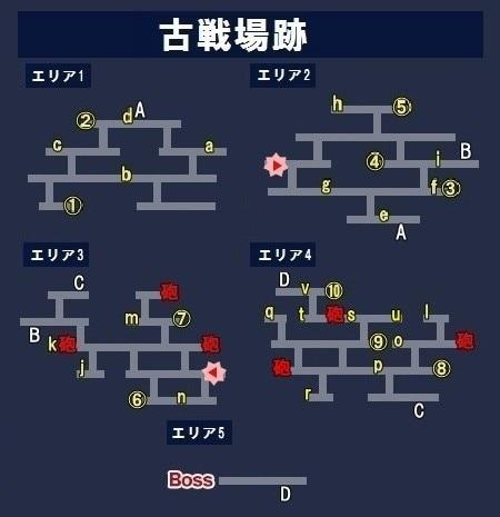 古戦場跡マップ