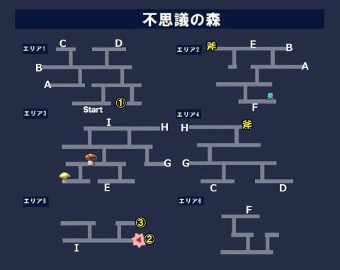 不思議の森_第二の記述マップ