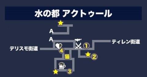 アクトゥールマップ