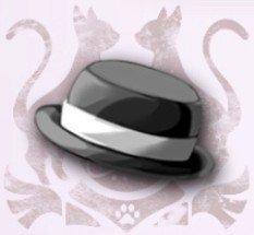 紳士の帽子