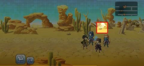 砂漠のバグ