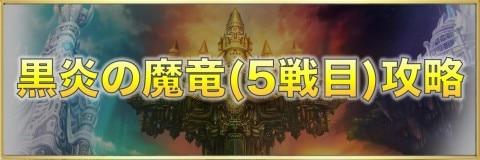 黒炎の魔竜(5戦目)