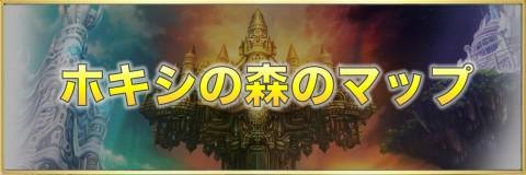 ホキシの森のマップ【宝箱/素材/猫】