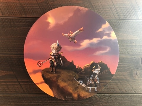 カフェ壁画