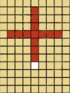 5×5の十字範囲