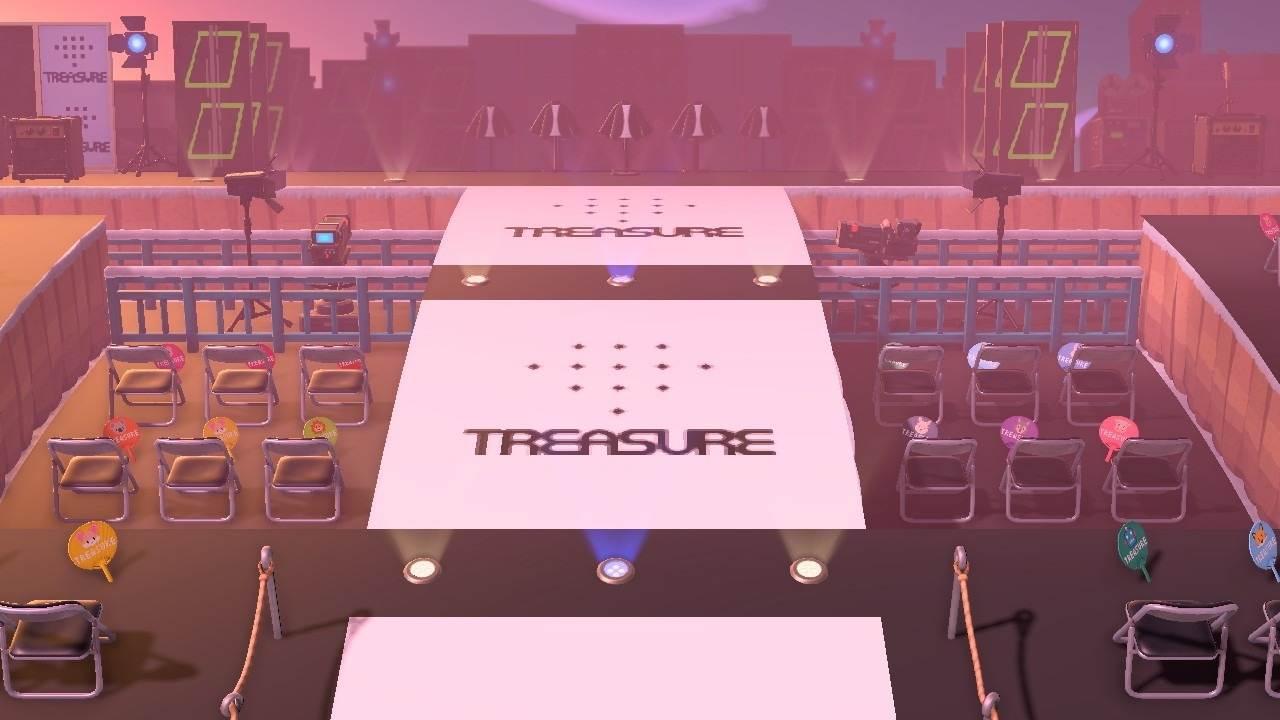 ライブステージ入り口