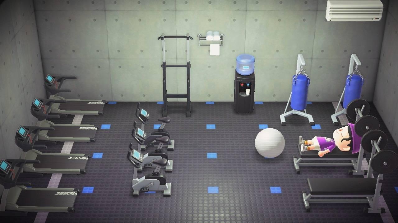 トレーニング部屋