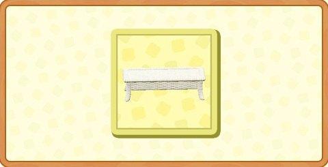 ラタンのローテーブルの入手方法とDIYレシピ