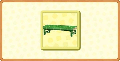 たけのベンチの入手方法とDIYレシピ