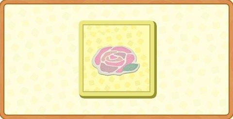 ピンクローズのラグの入手方法とDIYレシピ