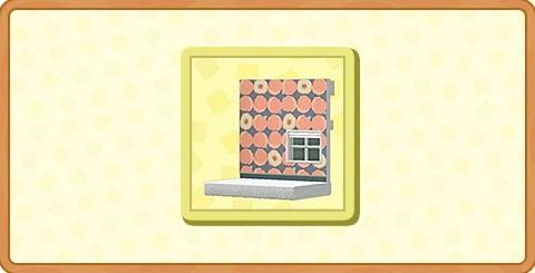 モモのかべがみの入手方法とDIYレシピ
