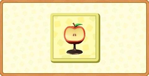 リンゴのチェアの入手方法とDIYレシピ