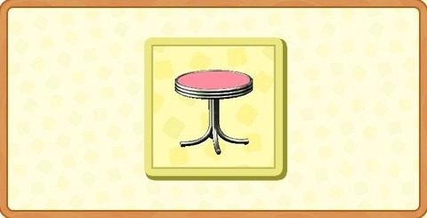 ダイナーなミニテーブルの入手方法とDIYレシピ