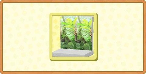 ジャングルのかべがみの入手方法とDIYレシピ