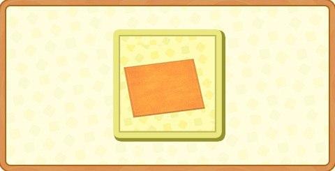 オレンジのシンプルマット・Mの入手方法とDIYレシピ