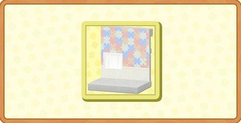 カラフルパズルかべがみの入手方法とDIYレシピ