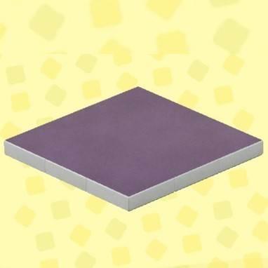 むらさきのシンプルカーペット
