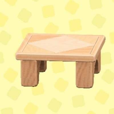 つみきテーブル
