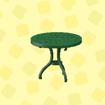 アイアンガーデンテーブル