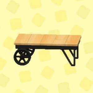 アイアンウッドローテーブル