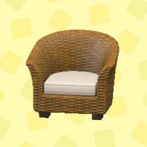 ラタンのソファ