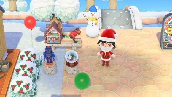 クリスマスの家具