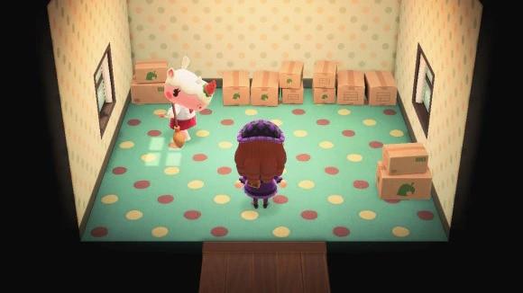 ダンボール状態の家(引っ越し準備中)