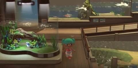 熱帯魚エリア
