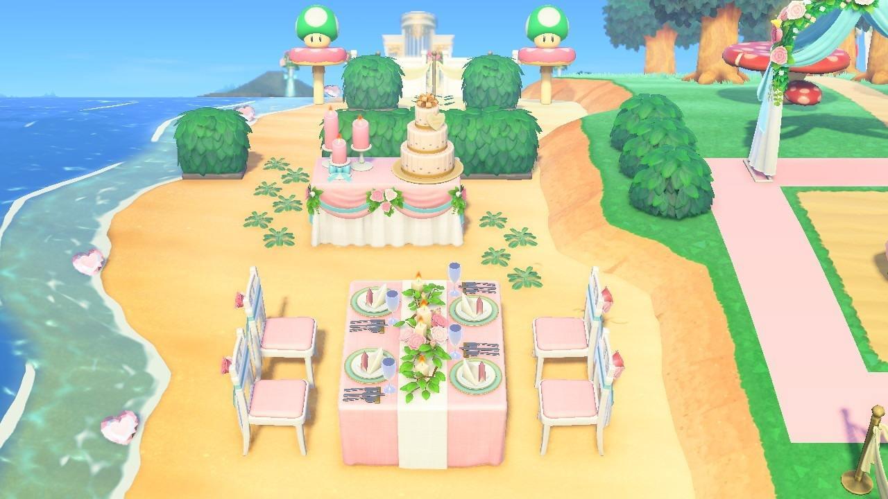 Ninten島の結婚式場