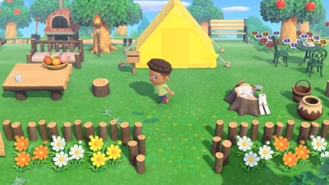 テント あつ 森 あつまれどうぶつの森:どこに入ってるの?貰ったキャンプベッドをテントに置く方法