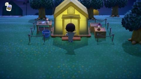 フータのテント
