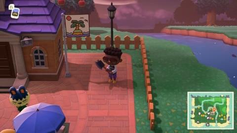 島の旗の変更方法