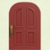あかいよくあるドア