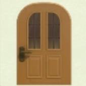 メープルなたてながまどのドア