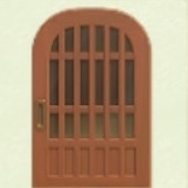 ちゃいろいこうしのドア