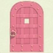 ピンクなてつのドア