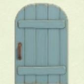 あおいそぼくなドア