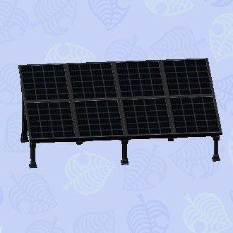 ソーラーパネル黒