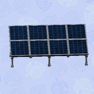 ソーラーパネルふちあり