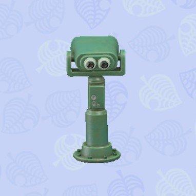 環境望遠鏡緑