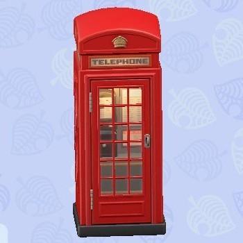電話ボックス赤