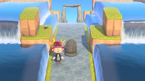 あつ森 滝の道 作り方