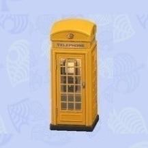 公衆電話 黄色