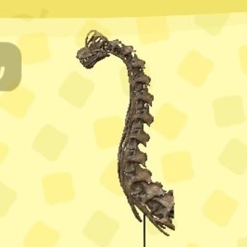 ブラキオサウルスのあたま