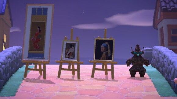 夜の動く美術品