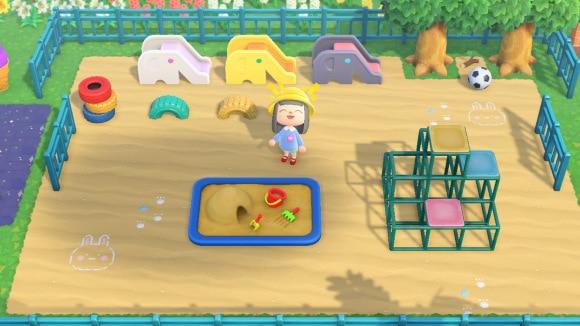 遊具がたくさんある公園